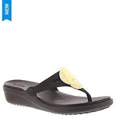Crocs™ Sanrah Liquid Metallic Wedge (Women's)