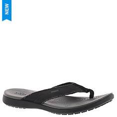 Crocs™ Santa Cruz Canvas Flip (Men's)