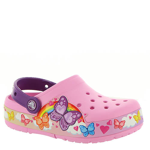 Crocs™ CFL Butterfly Band Lights Clog (Girls' Toddler-Youth)