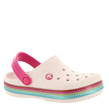 Crocs™ Crocband Sequin Band Clog (Girls' Infant-Toddler-Youth)