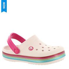 691cd5af72f482 Crocs™ Crocband Sequin Band Clog (Girls  Infant-Toddler-Youth)