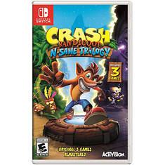 Nintendo SWITCH Crash Bendicoot N. Sane Trilogy