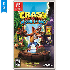 Nintendo SWITCH Crash Bendicoot N. Sane Trilogy