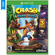 Xbox ONE Crash Bendicoot N. Sane Trilogy