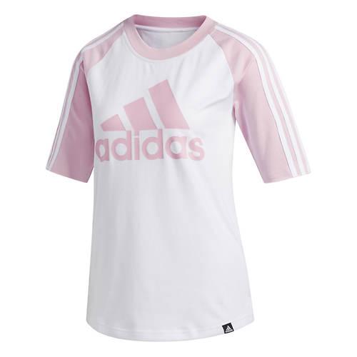 adidas Women's Badge of Sport Baseball Tee