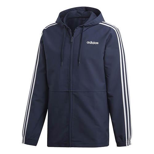 adidas Men's Essentials 3-Stripe Woven Hoodie