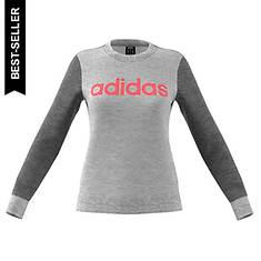 adidas Women's Essentials Linear Crewneck