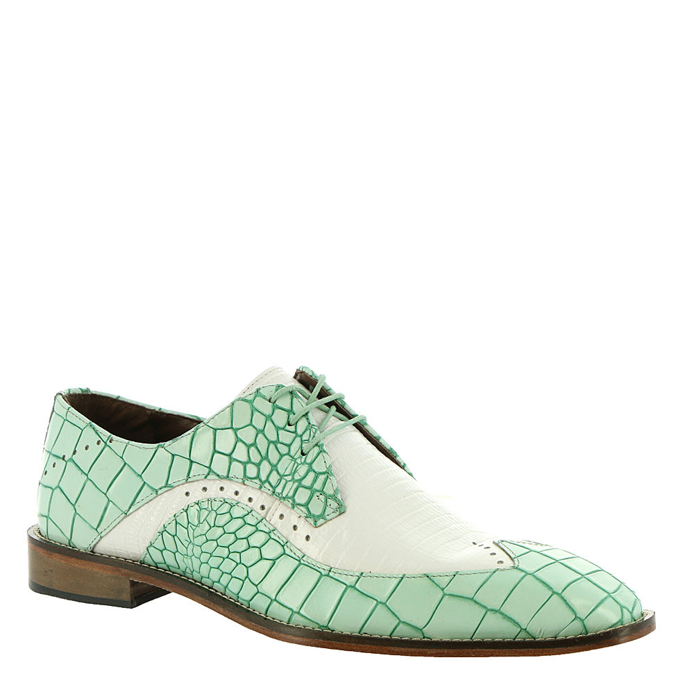 Men's Vintage Christmas Gift Ideas Stacy Adams Trazino Mens Green Oxford 11.5 M $89.95 AT vintagedancer.com
