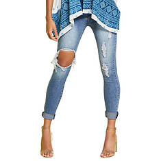 Destructed Cuff Jean