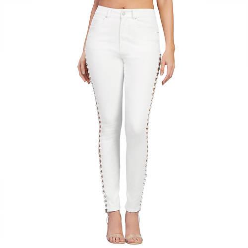 Side Cutout Jeans