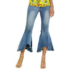 c1cf8a9dbb1f09 Raw-Hem Flare Jeans