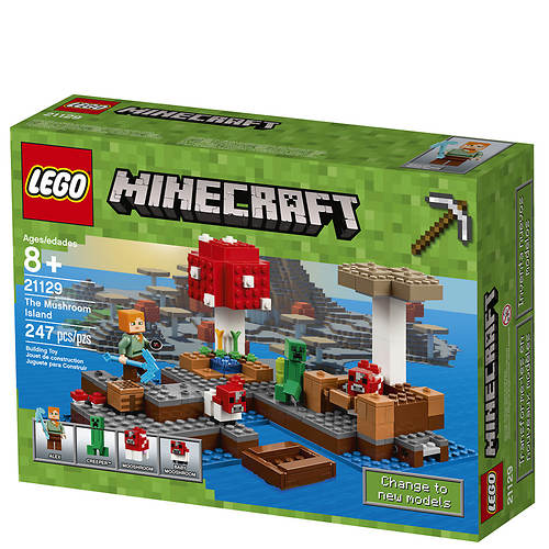 LEGO® Minecraft™ The Mushroom Island 247-Pc  Building Set