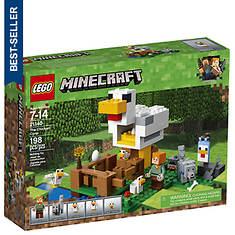 LEGO® Minecraft™ The Chicken Coop 198-Pc. Building Set