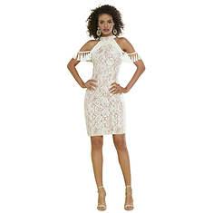 Lace and Fringe Dress