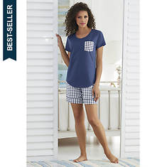 Printed Pocket Pajama Set