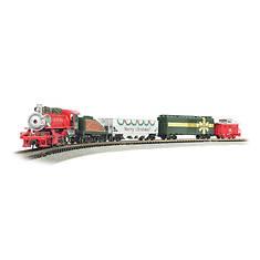 Bachmann Merry Christmas Electric Train Set