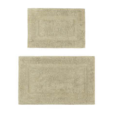 2-Piece Cotton Rug Set