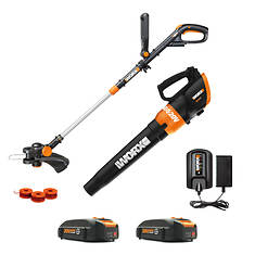 Worx 20V String Trimmer and Blower Combo Kit