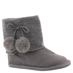 Baby Deer Boot w/Pom Poms Sweater Collar (Girls' Infant-Toddler)