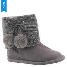 Baby Deer Boot w/Pom Poms Sweater Collar (Girls' Infant-Toddler)