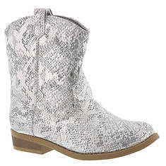 Baby Deer Snake Print Western Boot (Kids Toddler)