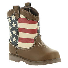 Baby Deer Stars & Stripes Boot Infant (Kids Infant)