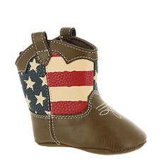 Baby Deer Stars & Stripes Boot Crib (Kids Infant)
