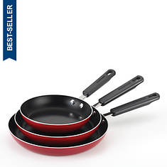 Farberware 3-Piece Aluminum Nonstick Skillet Set