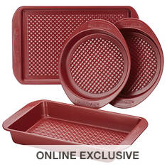 Farberware 4-Piece Nonstick Bakeware Set