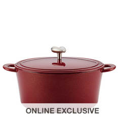 Ayesha Curry 6-Quart Cast Iron Enamel Dutch Oven