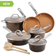 Ayesha Curry 12-Piece Nonstick Cookware Set