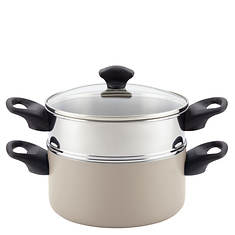 Farberware 3-Quart Covered Saucepot with Steamer