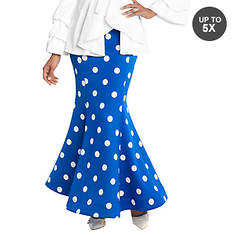 Fishtail Maxi Skirt
