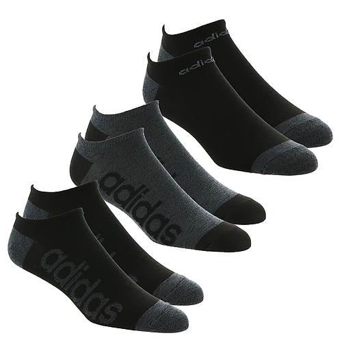 306be2a89015 adidas Men's SuperLite Linear 6-Pack No Show Socks