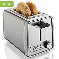 Hamilton Beach Chrome 2-Slice Toaster