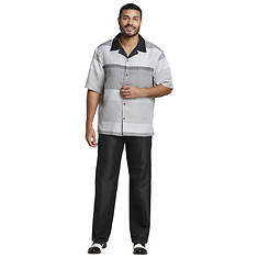 Men's Printed Shirt & Pant Set