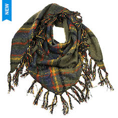 Free People Women's Freemont Fringe Bandana Scarf
