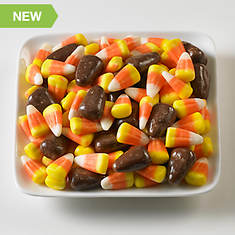 Halloween Snackin' Favorites - Chocolate Candy Corn Mix