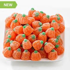 Halloween Snackin' Favorites - Orange Jelly Pumpkins