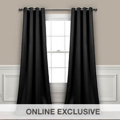Lush Décor Insulated Blackout Curtains