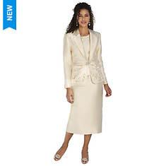 Cutout Dress Suit