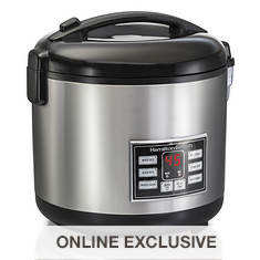 Hamilton Beach 20-Cup Digital Rice Cooker