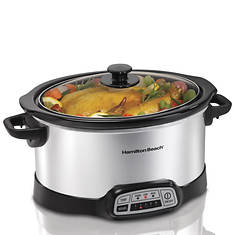 Hamilton Beach Programmable 6-Quart Slowcooker