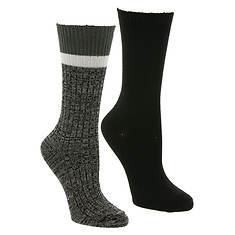 Steve Madden Women's SM42218C 2PK Boot Socks
