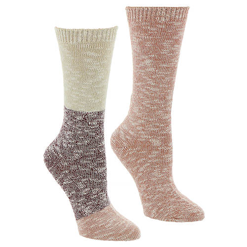 Steve Madden Women's SM42228B 2PK Boot Socks