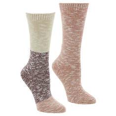Steve Madden Women's SM42228B 2PK Boot Socks