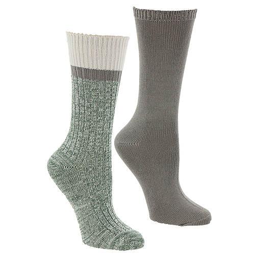Steve Madden Women's SM42218A 2PK Boot Socks