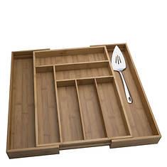 Totally Bamboo Expandable Utensil Drawer Organizer