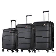 Dukap Rodez Hardside 3-Piece Luggage Set