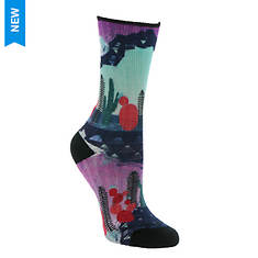 Smartwool Women's PhD Outdoor Light Print Crew Socks